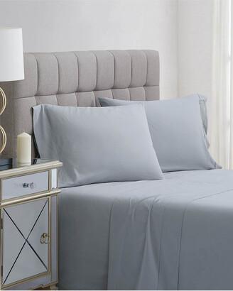 Charisma 400Tc Percale Cotton 4Pc Sheet Set