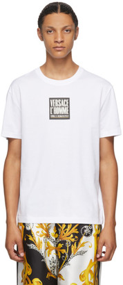 Versace White LHomme T-Shirt