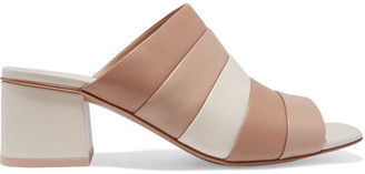 Opening Ceremony Ellenha Color-block Leather Mules