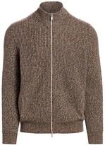 Brunello Cucinelli Melange Cashmere Knit Sweater