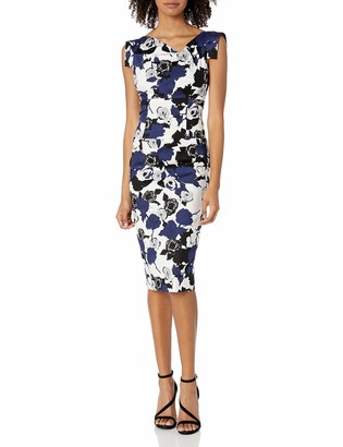 Black Halo Women's Floral Jackie O Dress