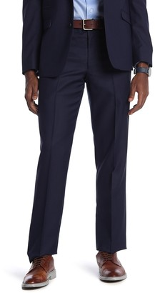 """Vince Camuto Navy Solid Suit Separates Pants - 29-34"""" Inseam"""
