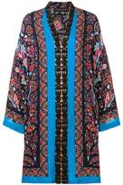 Etro mixed print loose dress