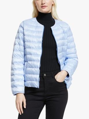 Max Mara Weekend Weekend Fiorire Quilted Jacket, Light Blue