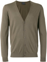 Laneus V-neck cardigan - men - Silk/Cashmere - 54