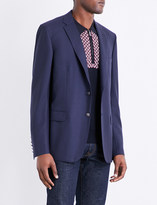 Brioni Textured regular-fit wool-twill jacket