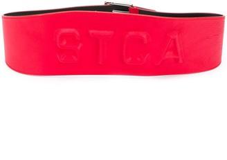 Just Cavalli Embossed Logo Belt