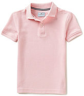 Class Club Big Boys 8-20 Solid Short-Sleeve Polo Shirt