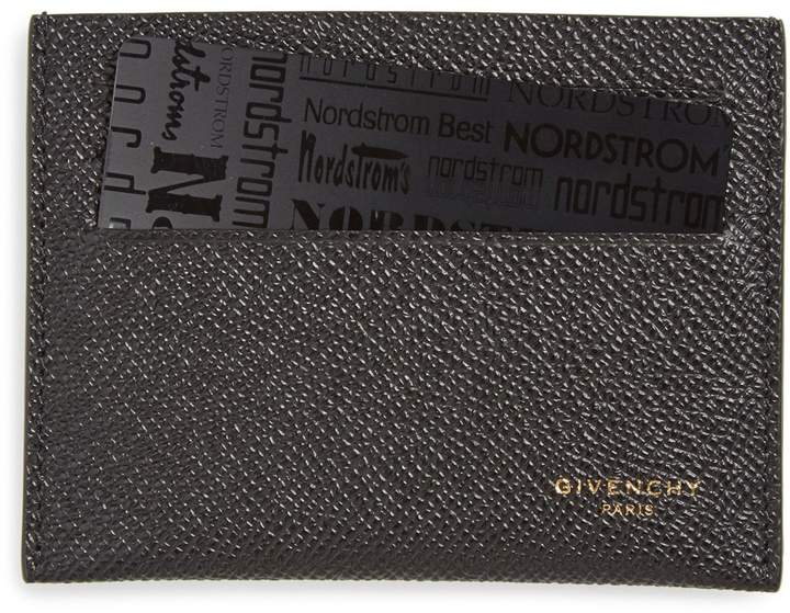 Givenchy Textured Leather Card Case