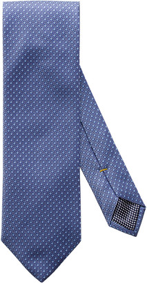 Eton Men's Small Dot Silk Tie