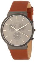 Skagen Men's Ancher Leather Watch