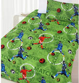Footy Glow in the Dark Quilt Cover Set
