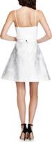 Peter Pilotto Grace Floral Jacquard A-Line Skirt