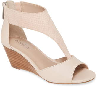 Charles by Charles David Gallo T-Strap Wedge Sandal