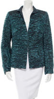 Akris Textured Silk-Blend Jacket