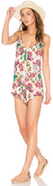 Beach Riot Iris Romper in Pink. - size L (also in )