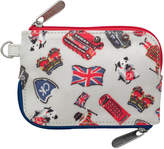 Cath Kidston London Stamps Multi Zip Purse