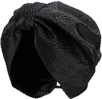 Jennifer Behr Etta satin turban