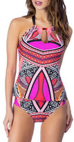 Kenneth Cole New York Without Borders High-Neck Tankini