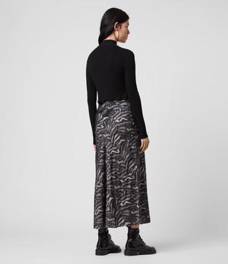 AllSaints Hera Remix 2-in-1 Dress