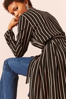 Forever 21 Contemporary Pinstripe Duster