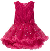 Betsey Johnson Lace & Sequin Disco Dot Tulle Dress (Little Girls)