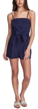 1 STATE Adjustable Eyelet Romper