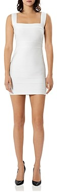 Herve Leger Icon Bandage Mini Dress