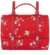 Dolce & Gabbana Leather Ladybird Print Backpack