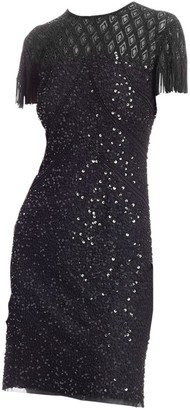 Joanna Mastroianni Sequin Bodycon Cocktail Dress