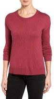 Halogen Seam Detail High/Low Sweater (Regular & Petite)