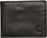 Element Greenfield Leather Wallet Black