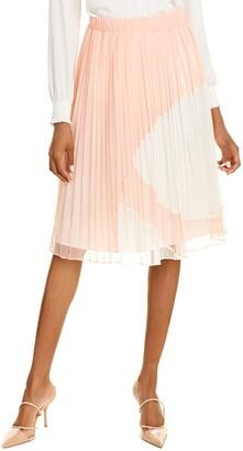 Catherine Catherine Malandrino Pleated Tulle Skirt