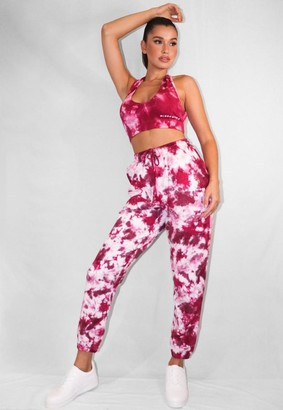 Missguided Tie Dye Oversized 90s Joggers