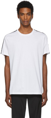 Givenchy White Regular Fit Band T-Shirt