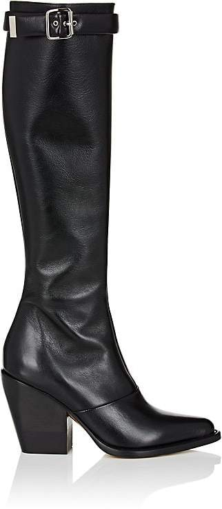 Chloé Women's Leather Knee Boots