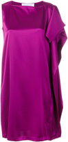 Gianluca Capannolo asymmetric party dress - women - Polyester/Triacetate - 40