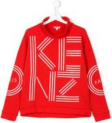 Kenzo logo sweatshirt - kids - Cotton - 14 yrs