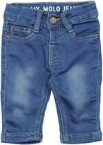 Molo Denim pants - Item 42546379