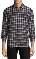 Ovadia & Sons Midwood Plaid Long-Sleeve Shirt
