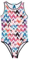Jantzen High Neck One-Piece Swimsuit