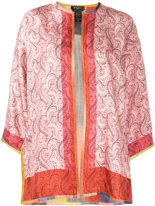 Etro Paisley Open Front Jacket