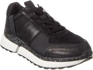 Reiss Ethan Leather & Mesh Sneaker