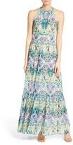 Eliza J Petite Women's Pleated Chiffon Dress
