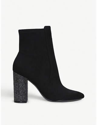 Aldo Aurella embellished heel ankle boots