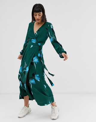 Gestuz Sille floral print midi dress