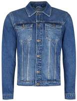 Topman Washed Blue Denim Jacket
