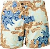 Okun - Patrice circle print swimming shorts - men - Polyester - XS