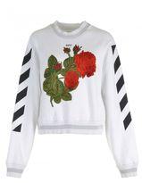 Off-White Cotton Sweatshirt