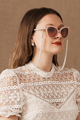 Lele Sadoughi Blush Chelsea Sunglasses By in Pink